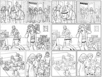 Wendy Adventure Page 9 INK by ernestj23