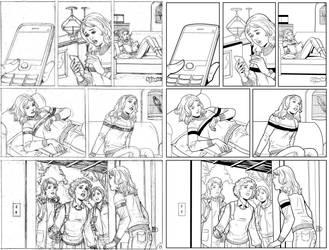 Wendy Adventure Page 8 INK by ernestj23