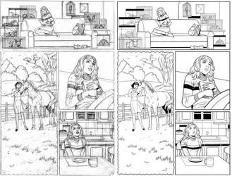 Wendy Adventure Page 7 INK by ernestj23