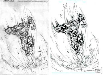 The Flash Ink by ernestj23
