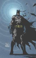 Batman in colors by ernestj23