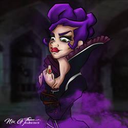 Evil Queen Purple by MilskieG