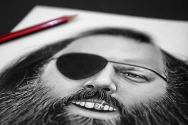 Slick Rick Rubin - Close Up by GeeeO