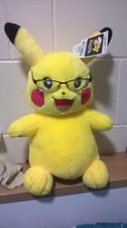 My Pikachu called Derek by Zigor-Adebisi