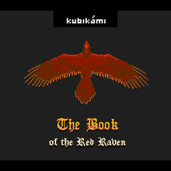 The Book of the Red Raven (Cover art for kubikami) by ArtemWolf