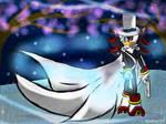 Kaito Shadow's midnight walk by AquaAngel1010