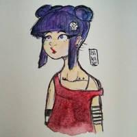 Brooke sketch #2 by Kunstbanane