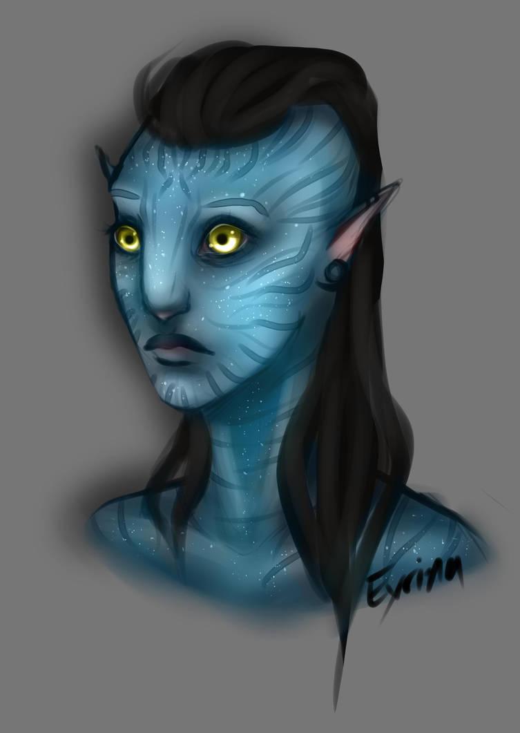 Eyrina (again) by Kunstbanane