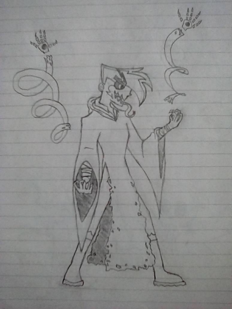 Phantom God of the Void by MimsTrinity