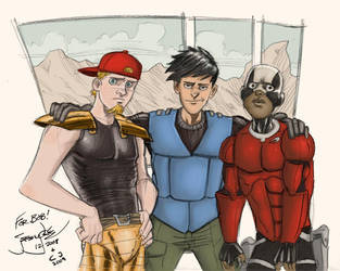 Sacred Pie Heroes by AngryHatter
