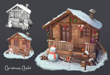 Christmas Chalet by Elo-Doudoune