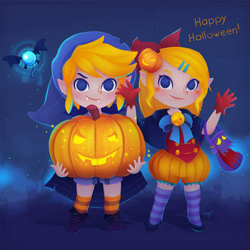 Happy Halloween! by Elo-Doudoune