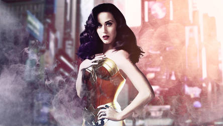 Katy Perry for Wonder Woman! by auratha11