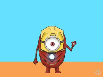 Minion Iron Man by auratha11