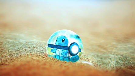Squirtle 1600x900 by auratha11