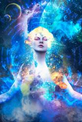 Cosmic Maiden by auratha11