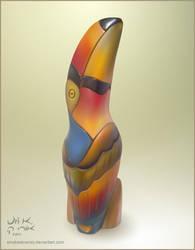 Wooden Toucan Mesh by SmokesBrandy