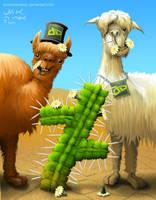 Llama Llama Logo by SmokesBrandy