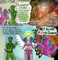 Shah-Azir Lotus Dreams of Evil experimental comic by KingNot
