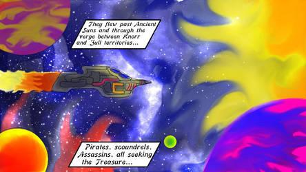 Coloring Druillet esque experiment by KingNot