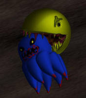 Gory pac man by KingNot