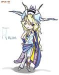 Final Fantasy II - Hilda by SailorSquall
