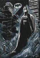 Batman - Watercolor by BrenoMoreira