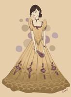Filipiniana dress by kimpertinent
