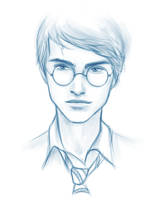 Harry doodle by kimpertinent