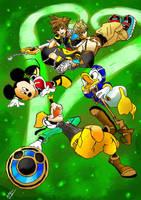 Lacos do Coracao - Kingdom Hearts II by AntonioWellington