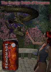 Dragon Energy Drink by parkerunfolded