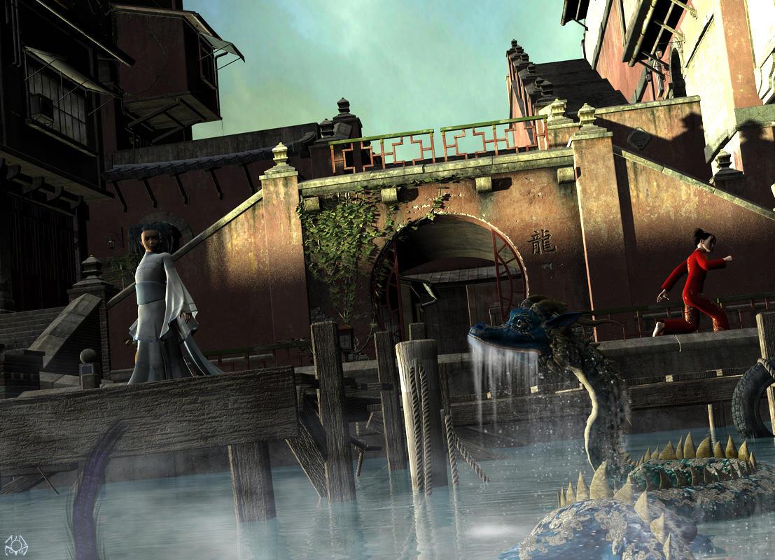 Sea Dragon by parkerunfolded