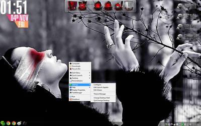 Emerge_Rainmeter_Desktop by JavedAqthar