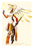 Your Guardian Angel - Overwatch by CubedCake