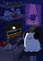 The Annoying Dog by CubedCake