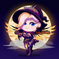 Witch Mercy by CubedCake