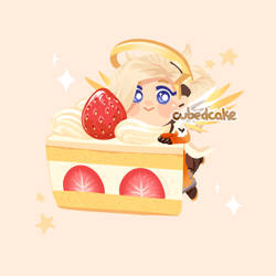 Piece of cake by CubedCake