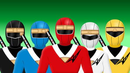 Ninja Sentai Kakuranger by Yurtigo