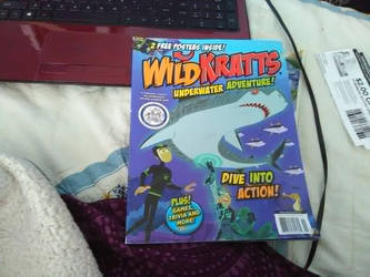 Wild Kratts magazine and poster by Strength2727
