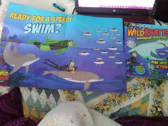 Wild Kratts magazine and poster- pic 2 by Strength2727