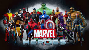 Marvel Heroes | Wallpaper by Squiddytron