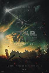 STAR WARS - Episode VII | Poster by Squiddytron