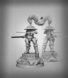 Samurai Grey by NonZeroSumUnity
