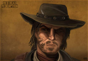 Red Dead John Marston by Mikaress