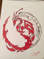 Dragon. I think. by Skypho98