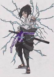 Sasuke s chidori by GerryPro