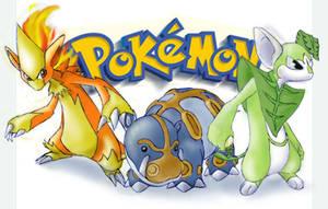 pokemon-a bit more colourful by kaseddy
