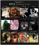 2016 Summary of Art by NightyART