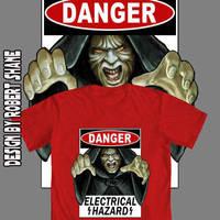 Star Wars Tee design - Electrical Hazard by Robert-Shane