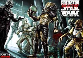 Predator kills the Star Wars universe - part 1 by Robert-Shane